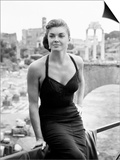 Raw Wind in Eden, Esther Williams, on Location in Rome, 1958 Art