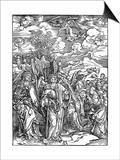 The Four Angels Holding the Winds, 1498 Affiches par Albrecht Durer
