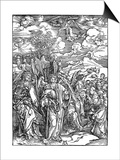 The Four Angels Holding the Winds, 1498 Prints by Albrecht Durer