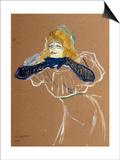 The Singer Yvette Guilbert, 1894 Pósters por Henri de Toulouse-Lautrec