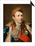 Portrait of Emperor Napoleon I Bonaparte (1769-182) Prints by Andrea Appiani