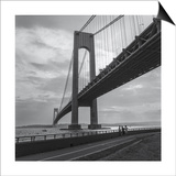 Verrazano Bridge, New York City Afernoon Posters by Henri Silberman
