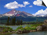 Broken Top Mountain & Sparks Lake Prints by Steve Terrill