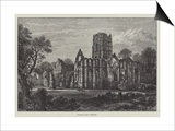 Fountains Abbey, Yorkshire Prints by Samuel Read