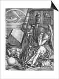 Melancolia, 1514 Prints by Albrecht Durer