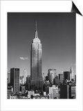 Empire State Manhattan Shadows Prints by Henri Silberman