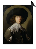 Prince Rupert (1619-82) Nephew of King Charles I (1600-49) Posters by Gerrit van Honthorst
