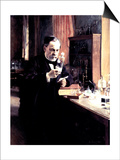 Louis Pasteur, 1885 Print by Albert Edelfelt