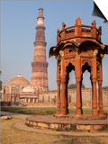 New Delhi, India. Smith's Folly, Qutb Minar,Victory Tower and Minaret Posters by Charles Cecil