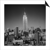 Empire State Building, New York City Prints by Henri Silberman