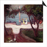The Dance on the Shore Plakat af Edvard Munch
