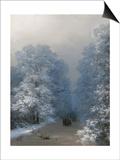 Winter Landscape, 1876 Posters by Ivan Konstantinovich Aivazovsky