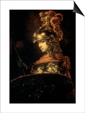The Guard, 17th Century Prints by  Rembrandt van Rijn