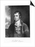 Robert Burns, Scottish Poet, Late 18th Century Print by Alexander Nasmyth