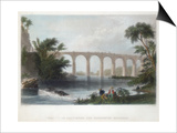 Viaduct on the Baltimore and Washington Railroad, C1838 Prints by Henry Adlard