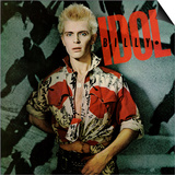 Billy Idol - Billy Idol Alternate 1982 Kunst af Epic Rights