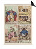 National Conveniences, 1769 Print by James Gillray