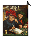 The Tax Collectors, 1520s Prints by Quentin Massys