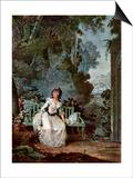 Nina, 1787 Poster by Jean-francois Janinet