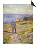 Summer in Asgardstrand, C.1890-1892 Art by Edvard Munch