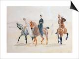 Riders, 1880S Láminas por Henri de Toulouse-Lautrec