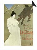 La Gitane, 1899-1900 Póster por Henri de Toulouse-Lautrec