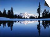 California, Yosemite National Park, Mammoth Peak and Tarn at Tioga Pass Prints by Christopher Talbot Frank