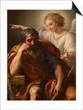 The Dream of St. Joseph, 1774 Posters by Anton Raphael Mengs