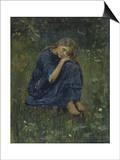 Alyonushka (Stud), 1881 Poster by Viktor Mikhaylovich Vasnetsov