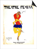 Poster for Igor Stravinsky's Ballet 'The Rite of Spring, 1911 Prints by Leon Bakst