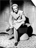 Seven Sinners, Marlene Dietrich, in a Beige Wool Suit, 1940 Print