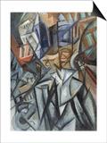 Man on the Street (Analysis of Volume), 1913 Posters by Olga Vladimirovna Rozanova