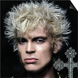 Billy Idol - Greatest Hits Inner Sleeve 2001 Kunstdrucke von  Epic Rights