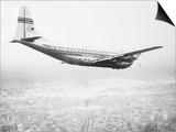 A Pan Am Clipper in Flight Art
