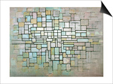 Compostion No. II, 1913 Posters by Piet Mondrian