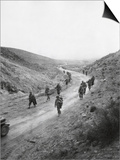 U.S. 16th Infantry, 2nd Battalion Moving Through the Kasserine Pass on Feb. 26, 1943 Stampa