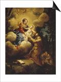 The Vision of Saint Francis, 1640S Posters by Pietro da Cortona