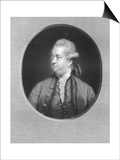 Edward Gibbon, 18th Century British Historian Prints by W Holl