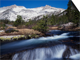 California, Sierra Nevada Mts, Inyo Nf, a Creek in the High Sierra Posters by Christopher Talbot Frank