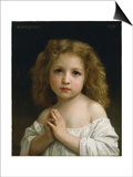 Little Girl, 1878 Posters by William-Adolphe Bouguereau