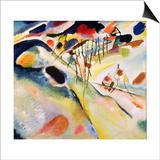 Wassily Kandinsky - Landscape, 1913 Reprodukce