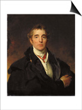 Portrait of Arthur Wellesley, 1st Duke of Wellington, C.1821 Posters af Thomas Lawrence