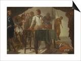 Mucius Scaevola Confronting King Porsenna Prints by Bernardo Cavallino