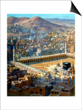 View of Mecca, from La Vie De Mohammed, Prophete D'Allah, C1880-C1920 Prints by Etienne Dinet