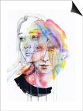 Girls Change Colors Prints by Agnes Cecile