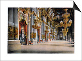 Entrance of the Palais Garnier, Paris, C1900 Prints