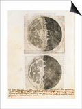 Sidereus Nuncius (Starry Messenger) with Drawings of the Phases and Surface of the Moon Prints by Galileo Galilei