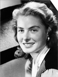 Ingrid Bergman, Late 1940s Print