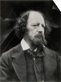 Poet Alfred Tennyson Prints by Julia Margaret Cameron