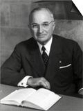 Harry Truman, President of U.S. in 1952 Posters